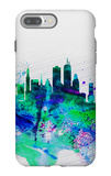Boston Watercolor Skyline iPhone 7 Plus Case by  NaxArt