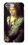 Isabella in Black iPhone 7 Plus Case by  Titian