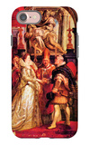 Medici Marriage in Florence iPhone 7 Case by Peter Paul Rubens