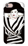 Fashion Women III iPhone 7 Case by Linda Baliko