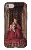 The Virgin and Child iPhone 7 Case by Jan Van Eyck