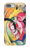 Colored Flowers iPhone 7 Plus Case by Franz Marc