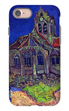 The Church of Auvers iPhone 7 Case by Vincent van Gogh