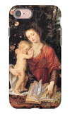 Mary with Child iPhone 7 Case by Peter Paul Rubens