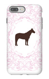 Pink Stallion iPhone 7 Plus Case by  Avalisa