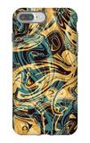 Psychedelic Seamless Print iPhone 7 Plus Case by Alexandra Khrobostova