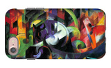 Abstract with Cattle iPhone 7 Case by Franz Marc
