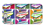 Las Vegas, Nevada - Welcome Sign Pop Art iPhone 7 Plus Case by  Lantern Press
