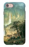 Cho-looke, the Yosemite Fall iPhone 7 Case by Albert Bierstadt