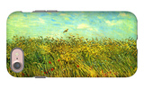 Wheat Field with a Lark iPhone 7 Case by Vincent van Gogh