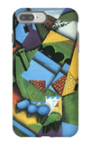 Landscape with Houses in Céret iPhone 7 Plus Case by Juan Gris