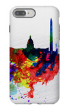 Washington DC Watercolor Skyline 1 iPhone 7 Plus Case by  NaxArt