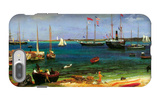 Nassau Port iPhone 7 Plus Case by Albert Bierstadt