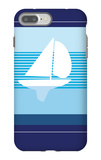 Navy Sail iPhone 7 Plus Case by  Avalisa