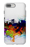 New York Watercolor Skyline 1 iPhone 7 Plus Case by  NaxArt