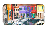 Burano Village iPhone 7 Plus Case by Shelley Lake