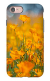 Riverside Poppies iPhone 7 Case by Vincent James