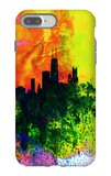 Chicago Watercolor Skyline iPhone 7 Plus Case by  NaxArt
