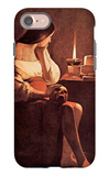 Magdalen with the Smoking Flame iPhone 7 Case by Georges de La Tour