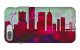 Detroit City Skyline iPhone 7 Plus Case by  NaxArt