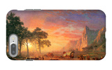 The Oregon Trail iPhone 7 Plus Case by Albert Bierstadt