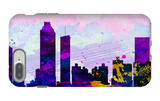 Atlanta City Skyline iPhone 7 Plus Case by  NaxArt