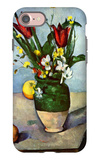 The Vase of Tulips iPhone 7 Case by Paul Cézanne