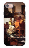 Musical Trio iPhone 7 Case by Jan Vermeer