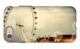 London Ferris Wheel iPhone 7 Case by Emily Navas