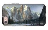 Cathedral Rocks, Yosemite iPhone 7 Case by Albert Bierstadt