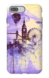 London Watercolor Skyline iPhone 7 Plus Case by  NaxArt
