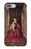 The Virgin and Child iPhone 7 Plus Case by Jan Van Eyck