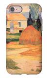 Farmhouses in Arles iPhone 7 Case by Paul Gauguin