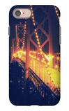 Vintage Bay Bridge Scene iPhone 7 Case by Vincent James