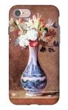 Flowers in a Vase iPhone 7 Case by Jean-Baptiste Simeon Chardin