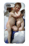 First Kiss iPhone 7 Plus Case by William Adolphe Bouguereau