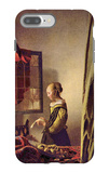 Girl at the Open Window iPhone 7 Plus Case by Jan Vermeer