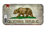California State Flag With Distressed Treatment iPhone 7 Plus Case by Bruce stanfield
