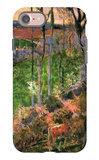 Small Breton Wooden Shoe iPhone 7 Case by Paul Gauguin