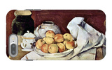 Still Life with Commode iPhone 7 Plus Case by Paul Cézanne
