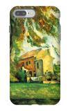Farmhouse and Chestnut Trees at Jas de Bouffan iPhone 7 Plus Case by Paul Cézanne