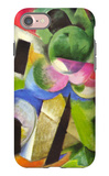 House with Trees iPhone 7 Case by Franz Marc