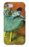Dancers at the Bar iPhone 7 Case by Edgar Degas
