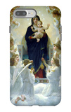The Virgin with Angels iPhone 7 Plus Case by William Adolphe Bouguereau