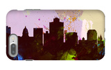 Salt Lake City Skyline iPhone 7 Plus Case by  NaxArt