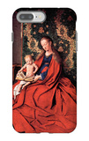 Madonna and Child Reading iPhone 7 Plus Case by Jan Van Eyck