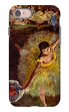 End of the Arabesque iPhone 7 Case by Edgar Degas