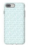 Aqua Hope iPhone 7 Plus Case by  Avalisa