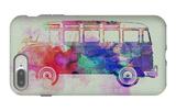 VW Bus Watercolor iPhone 7 Plus Case by  NaxArt