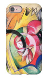 Colored Flowers iPhone 7 Case by Franz Marc